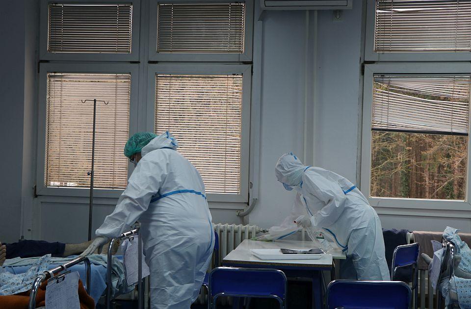 Manje kovid pacijenata u Novom Sadu