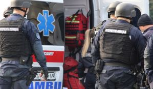 Muškarac goreo na uglu Temerinske i Partizanske, zadobio naizgled lakše opekotine