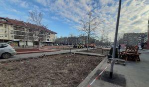 Divlji parking na Novom naselju postaje zeleni trg, uskoro radovi na ozelenjavanju