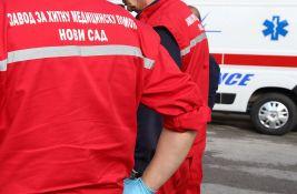 U Kisaču teško povređen pešak, dvanaestogodišnjak oboren na Čeneju
