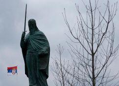 Spomenik Stefanu Nemanji otvoren uz veliki broj građana i političara