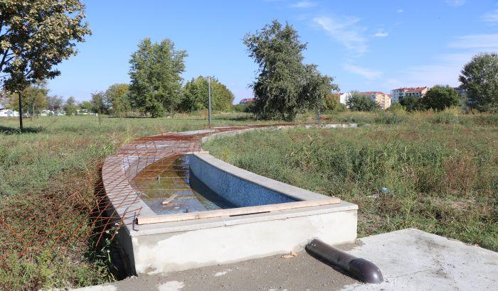 Još 21 milion dinara za uređenje novog parka između Novog naselja i Detelinare