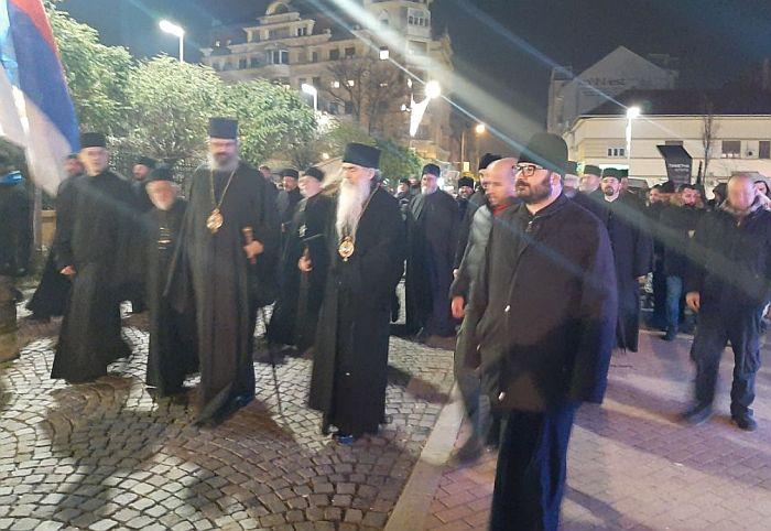 U petak moleban i litija u Novom Sadu zbog crnogorskog Zakona o veroispovesti