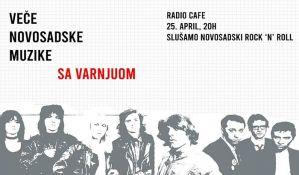 Veče novosadske muzike sa Varnjuom u četvrtak u Radio kafeu