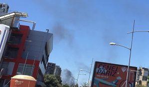 FOTO: Požar na Adicama, gori trava i rastinje