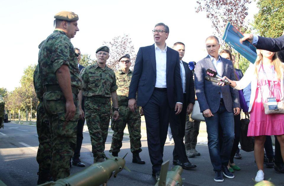 Vučić: Najmanje ljudstva u vojsci dolazi iz Vojvodine i Beograda