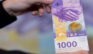 Nova najveća švajcarska novčanica od 13. marta