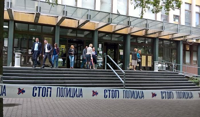 Novosadski sud evakuisan zbog lažne dojave o bombi