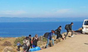 Migranti privremeno napustili kampove na grčko-turskoj granici zbog pandemije