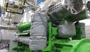 FOTO, VIDEO: Proradilo kogeneraciono postrojenje u Toplani Jug