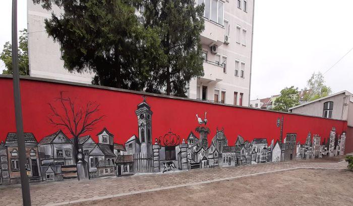FOTO: Tri veka Almaškog kraja na 30 metara dugom zidu