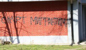 FOTO, VIDEO: Grafiti mržnje svakodnevica Novog naselja, neonacistima smeta i 021