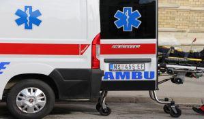 Biciklista oboren na Mišeluku, devojka povređena u udesu kod BIG-a