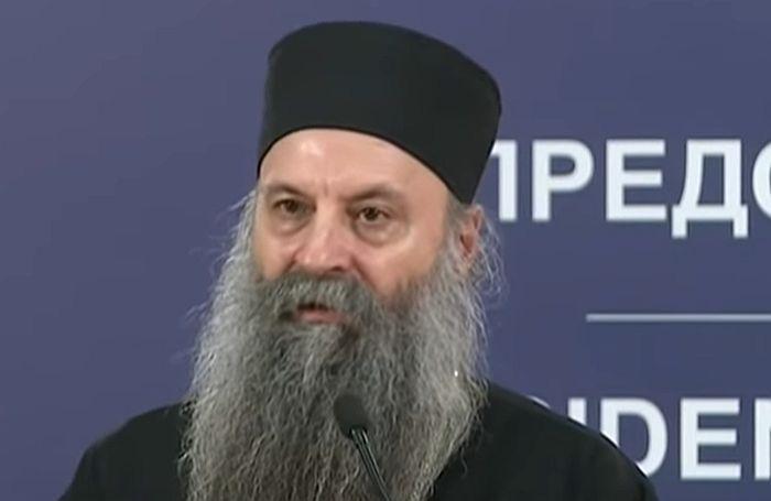 Patrijarh Porfirije u samoizolaciji