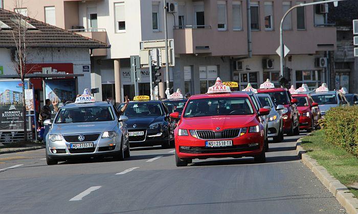 Pismeni deo ispita za novosadske taksiste 22. marta na Novosadskom sajmu