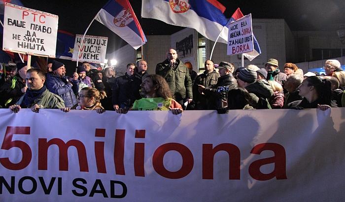 Reporteri bez granica: RTS da prestane sa ignoriše proteste