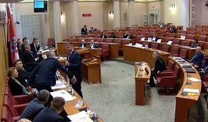 VIDEO: Umalo tuča u hrvatskom Saboru