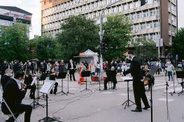 FOTO: Koncertom na Bulevaru oslobođenja završena mini-turneja Opere SNP-a po Novom Sadu