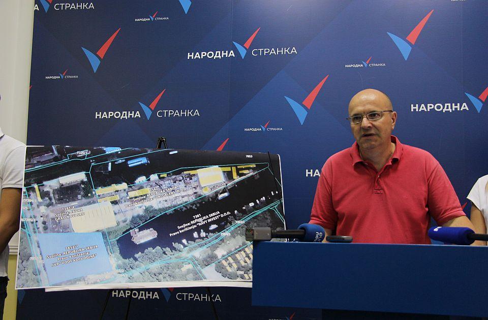 Novaković o planovima Galensa i priobalju: Fizički ćemo braniti obalu Dunava ako treba