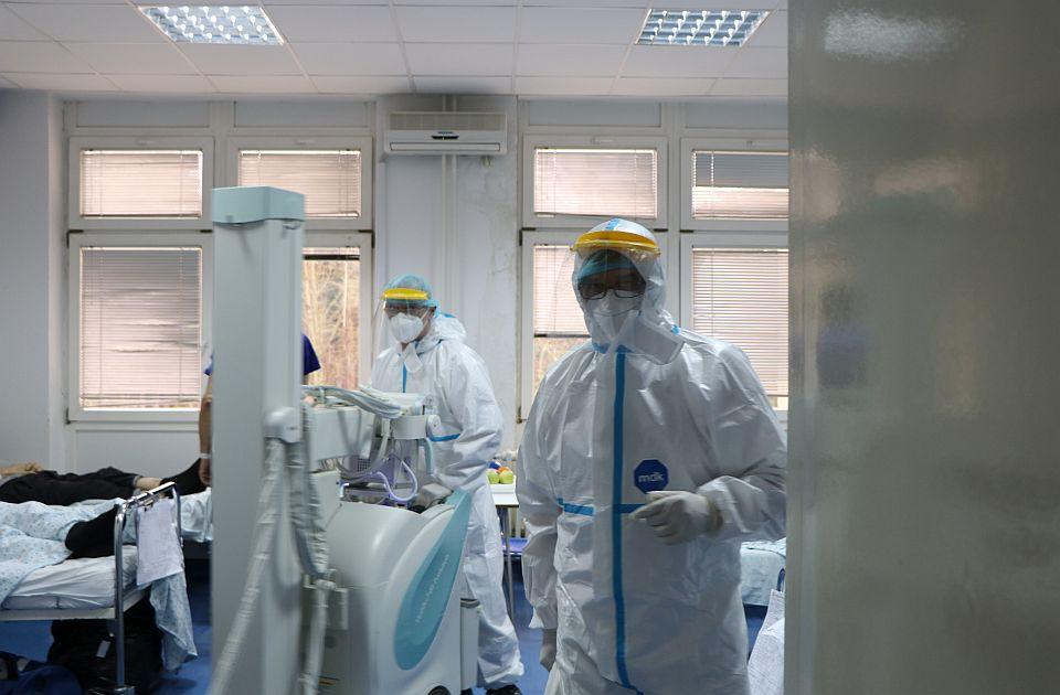 Broj kovid pacijenata u Novom Sadu manji