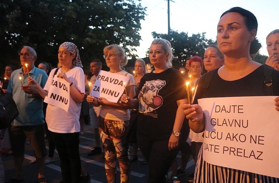 FOTO, VIDEO: Građani blokirali Preradovićevu ulicu, traže pravdu za Ninu