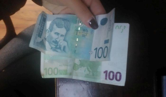 Evro u ponedeljak 118,24 dinara