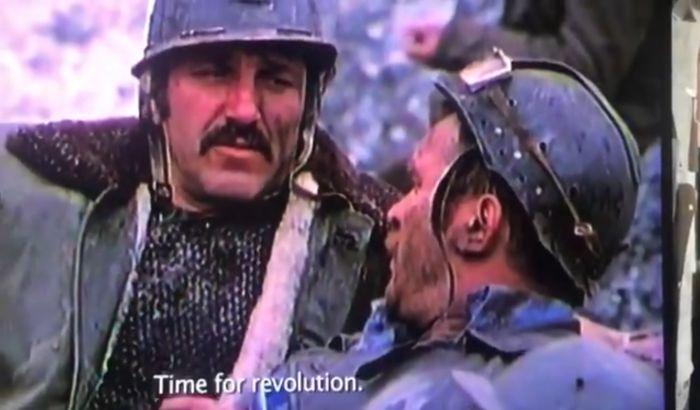 VIDEO Džon Kjuzak deli scenu sa Batom Živojinovićem i Borisom Dvornikom: