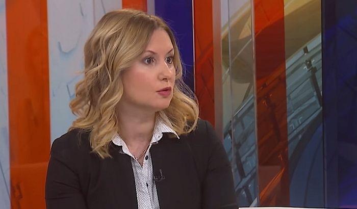 Aleksandra Jerkov sutra na saslušanju po krivičnoj prijavi predsednika DS-a