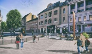 Izabrane kompanije koje će urediti centar grada kod SNP-a, posao vredan 378 miliona dinara