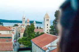 Hrvatska obala označena narandžastom bojom