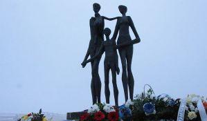 Komemoracija povodom 79. godišnjice Novosadske racije danas na Keju