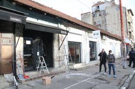 FOTO: Bomba bačena na kafić u Beogradu, u istoj ulici nedavno isti incident sa drugim lokalom