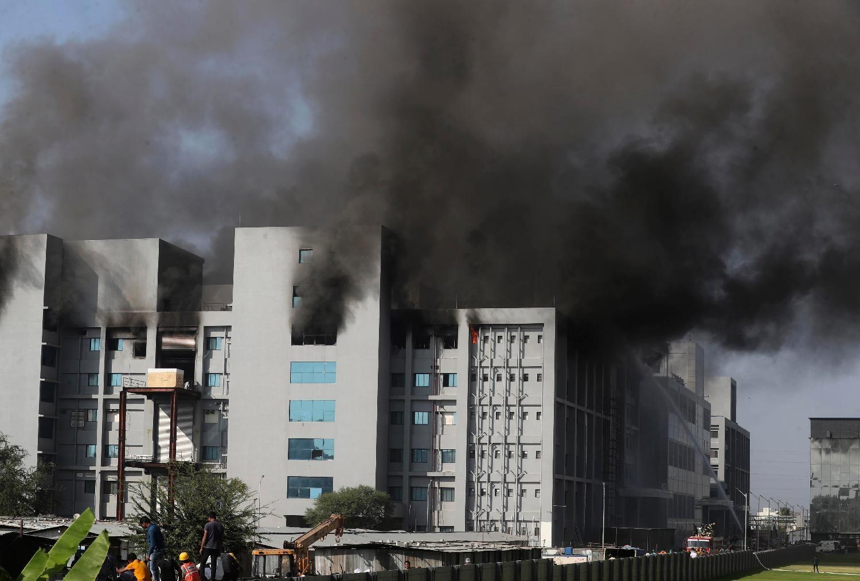 FOTO, VIDEO: Požar u najvećoj fabrici vakcina na svetu, pet žrtava