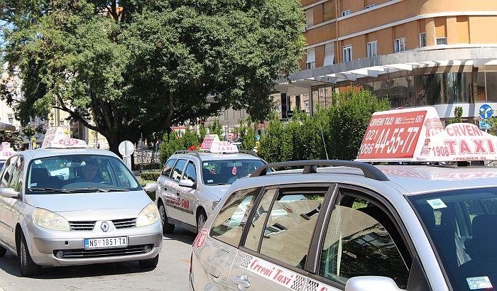 Novosadski taksisti kreću u proteste
