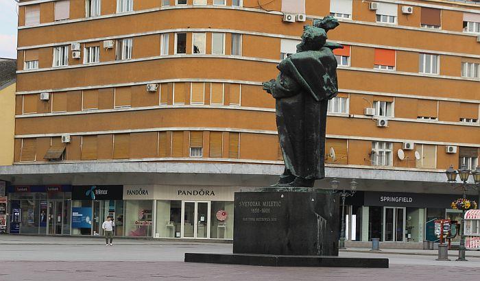 Uskoro popravka Miletićevog i još nekoliko spomenika u Novom Sadu