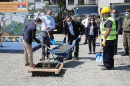 FOTO: Počela izgradnja kovid bolnice u Kruševcu