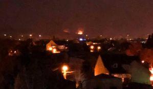 Veliki požar na Fruškoj gori, sumnja se da je podmetnut