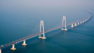 Najduži most preko mora na svetu: Od Hong Konga do Džuhaja