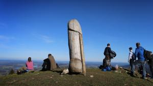 Nemačka: Nestala skulptura falusa sa planine Grunten