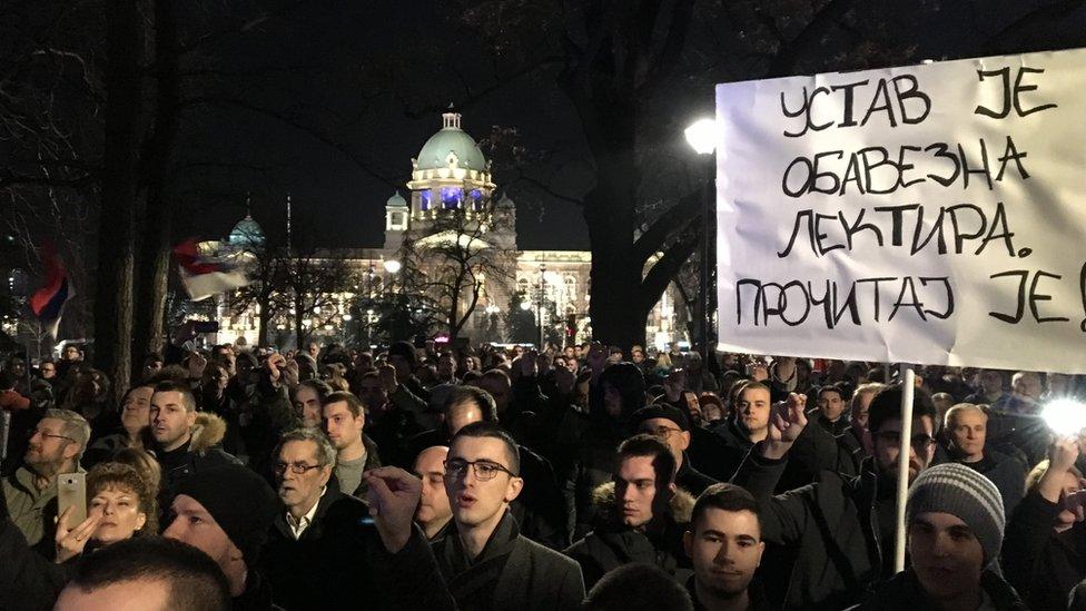 """Protest """"Kosovo je Srbija"""