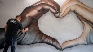 Džordž Flojd: Ajs Ti i Čak Di podelili sliku murala sa antirasističkom porukom