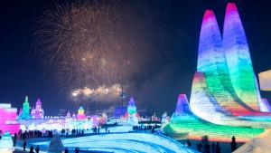 Kina: Ledene palate podignute u Harbinu