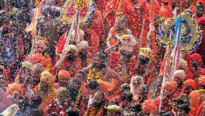 Kumbh Mela: Kako planirati festival za 100 miliona ljudi