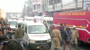 Indija: Tragedija u Delhiju - više od 40 radnika stradalo u požaru u fabrici