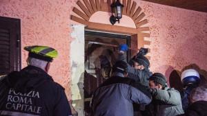 Rimska policija zaplenila osam vila mafijaškog klana