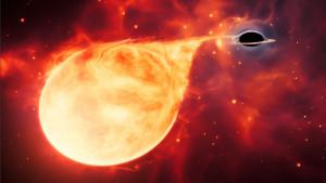 Ova gladna crna rupa možda predstavlja kosmičku kariku koja nedostaje