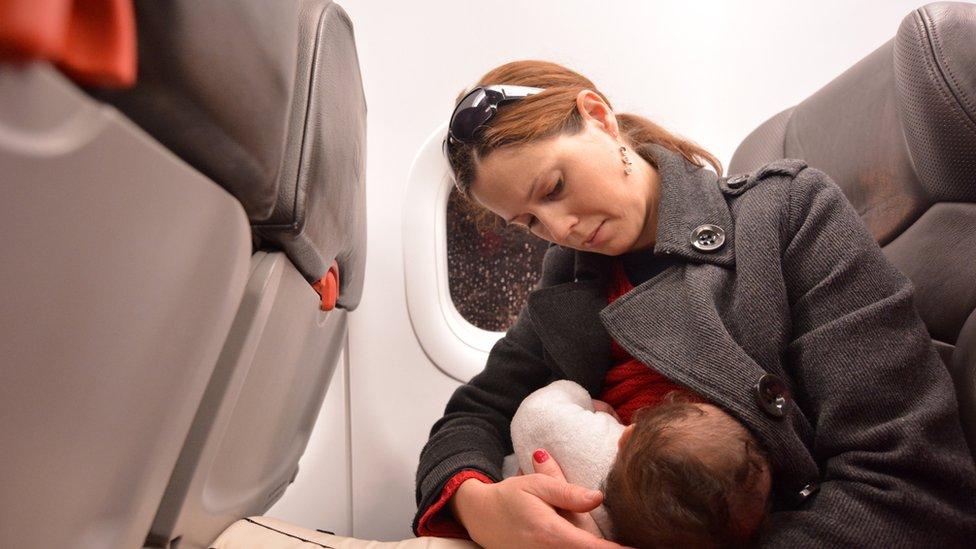 Holandija: Kako je dojenje u avionu