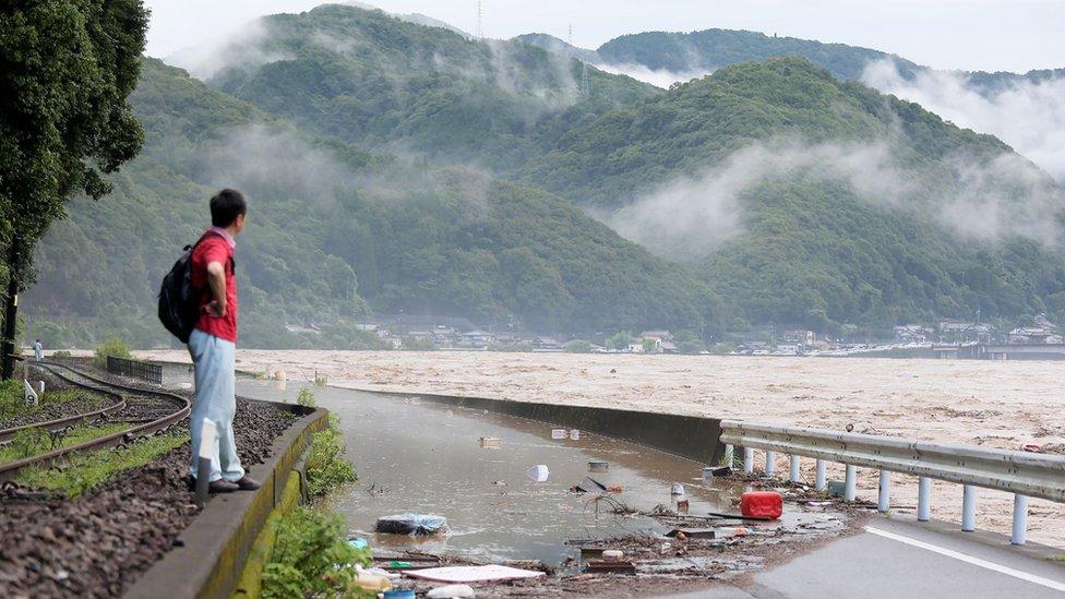 Japan i poplave: Više nastradalih u domu za stare, angažovana i vojska