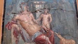 Pompeja: Arheolozi pronašli fresku koja prikazuje Narcisa
