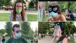 Protesti i korona virus u Srbiji: